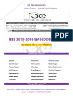 2015 - 2016 Ieee Embedded Project Titles