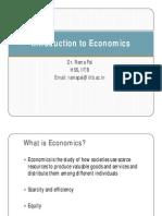 1_Introduction to Economics