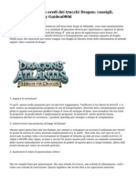 Dragons of Atlantis eredi dei trucchi Dragon
