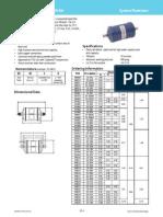 EK Liquid Line Filter Drier and Capacity Table