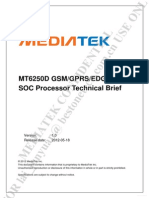 MT6250D MT6250D SOC processore technical brief