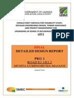 Final Detailed Design Report - Musita _ Majanji Road
