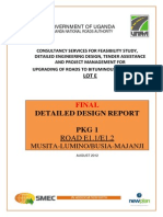 Final Detailed Design Report - Musita _ Majanji Road