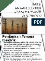 PENJANAAN ELEKTRIK(GENERATION OF ELECTRICITY)