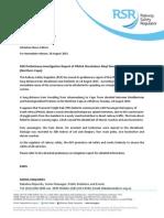 Preliminary Investigation Report of PRASA Shosholoza Meyl Derailment Kimberley_28 August 2015