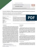 004 - Corrosion Inhibition of Flaky Aluminium Powders Prepared Through Sol–Gel Process