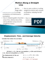 PPT PHY10 WK04 Motion Straight Line