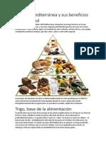 La Dieta Mediterránea y Sus Beneficios Para La Salud