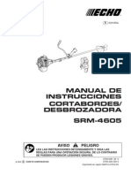 Manual Desbrozadora