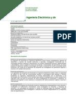 Doctorado en Ingeniería Electrónica 2016-1