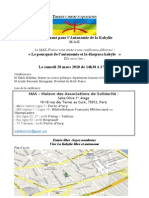 Conference Affiche 20 Mars