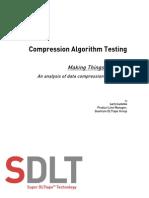 Compression Algorithm Testing