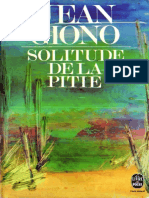 Solitude de La Pitie - Jean Giono