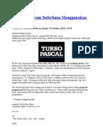 Contoh Program Sederhana Menggunakan Pascal.docx