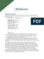 Gabriela Melinescu-Ghetele Fericirii