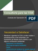 Consultoría Para Las COA 2