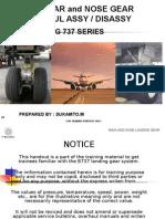 Main n Nose Gear b.737