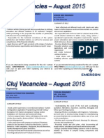 Vacancies 25 Aug 2015