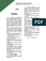Regulamento Monografia