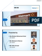 Presentation on Walmart