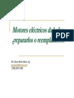 Cambiar o Reparar Un Motor Electrico Oscar Nunez