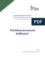 Guia Boliviana de Construccion