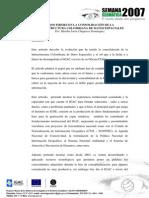 Pasos Firmes en La Consolidación de La ICDE