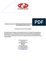 Guidance Selection and Specification of Fire Alarm Categories in Accordance With BS 5839-1