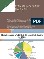 Pendekatan Klinis Anak Dengan Diare Akut - Tulungagung Utk Peserta