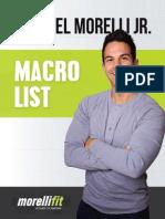 Macro List