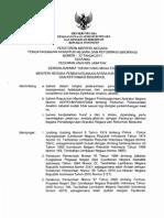 PERMENPAN No 33 Tahun 2011 Ttg Pedoman Analisis Jabatan