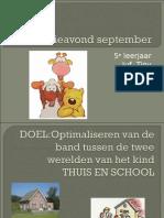 Informatieavond SeptemberLeendert Jan Vis2015-2016
