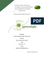 Portafolio Agroecologia