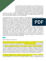 Historia Patología