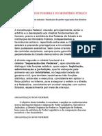 Organização Dos Poderes e Do Ministério Público