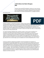 Dragons of Atlantis héritiers du Hack Dragon Téléchargeru000d