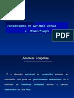 Genetica Clinica e Dismorfologia-Resumo
