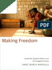 Making Freedom by Anne-Maria Makhulu