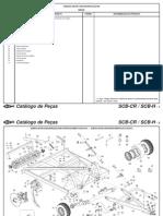 Catálogo de Peças SCB-CR SCB-H ( Português )