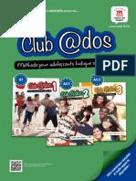 Depliant Collection Club Ados