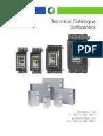 Emotron Softstarter Technical-catalogue 01-5552-01 English