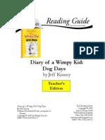 Wimpy Kid Dog Days TE uide