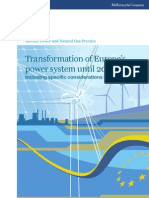 Transformation of Europes Power System
