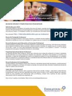 Becas de Estudio y Pasantías Ejecutivas Senior