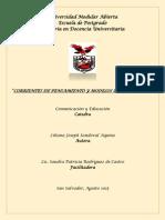 MODELOS EPISTEMOLOGICOS