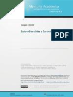 Geiger, Fenomenólgo, Estética, Psicología