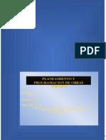 Planeacion y Programacion de Obras Viales