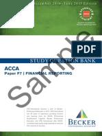 F7INTFR Study Question Bank Sample D14 J15