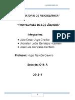 Fisicoquimica lab 3