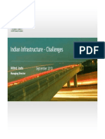 IDFC Indian Infrastructure - Challenges